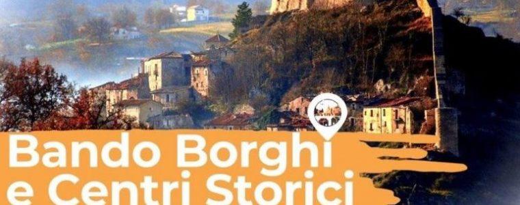 BANDO BORGHI E CENTRI STORICI